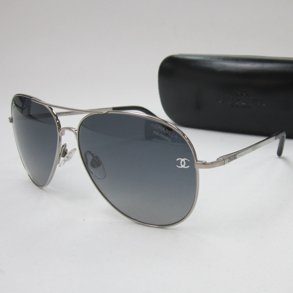 0c117bb2e5a1b CHANEL Accessories - Chanel 4189-T-Q Aviator Sunglasses Italy OLE343